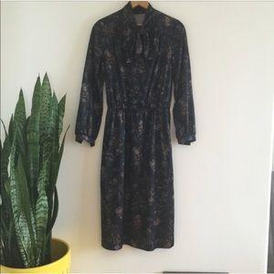 Vintage 🌵 Midi Dress